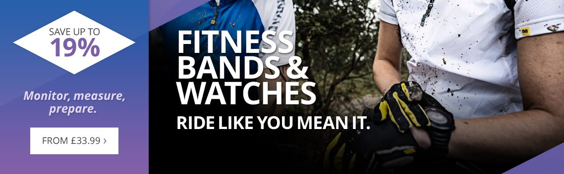 Fitness bands, watches & activity monitors | Save up to 19% | Top brands like Garmin, Suunto, Polar, Mio & more | From £33.99 | Free UK delivery