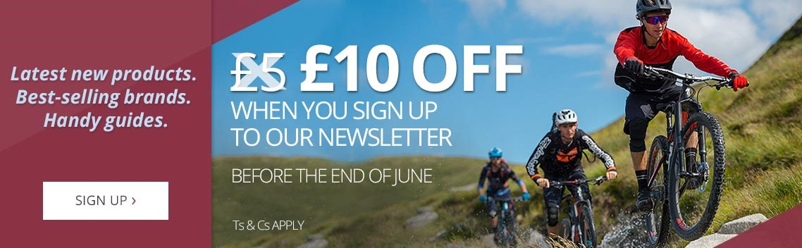 Get £10 off when you sign up to our newsletter in June | Latest new products, best-selling brands & handy guides | Free UK delivery