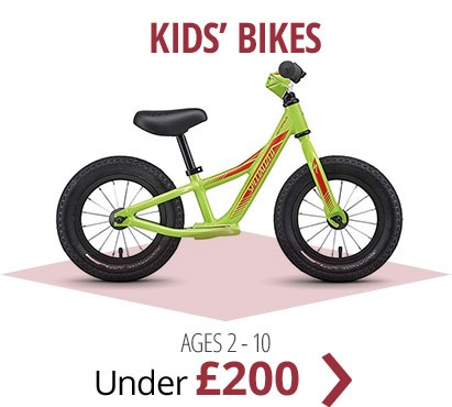 Kids' bikes under £200 | For ages 2 - 10 | Free UK delivery