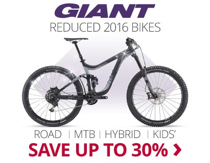 Reduced Giant 2016 Bikes | Save up to 30% | Free UK delivery | 0% finance available on orders over £250
