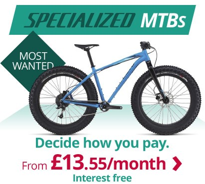 Most wanted Specialized MTBs | Decide how you pay from £13.55/m interest free | Free UK delivery