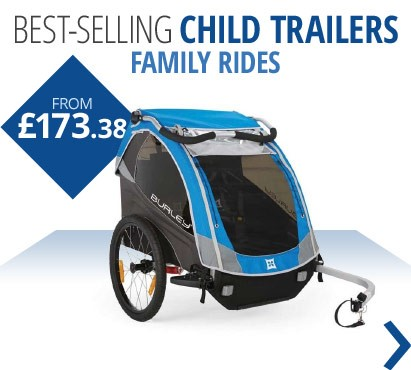 Best-selling child trailers and tag-a-longs | Ride as a family this summer | From £173.38 | Free UK delivery