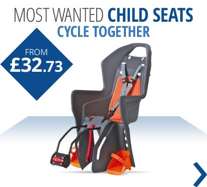 Most wanted child seats for cycling together this spring and summer | From £32.73 | Free UK delivery
