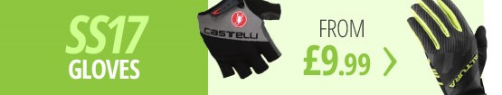 SS17 gloves | New-in spring and summer gloves from Castelli, Altura, Endura & more | From £9.99 | Free UK delivery