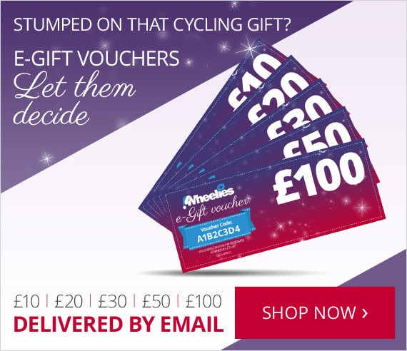 e-Gift vouchers for cycling Christmas gifts | £10, £20, £30, £50, £100 vouchers | Let them choose | Delivered by email