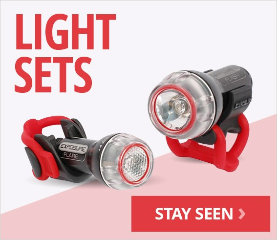 Cycling light sets | Free UK delivery