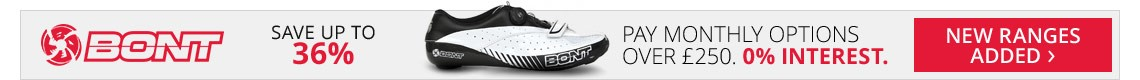 Bont Cycling Shoes | Save up to 36% | New ranges now added | Free UK delivery