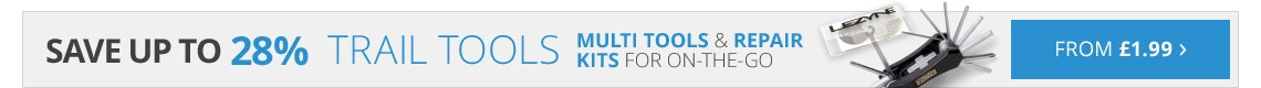 Trail tools | Multi tools and repair kits on the go | Save up to 28% | From £1.99 | Free UK delivery