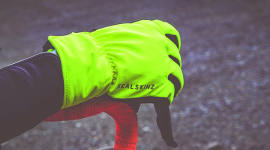 Waterproof windproof and breathable SealSkinz gloves