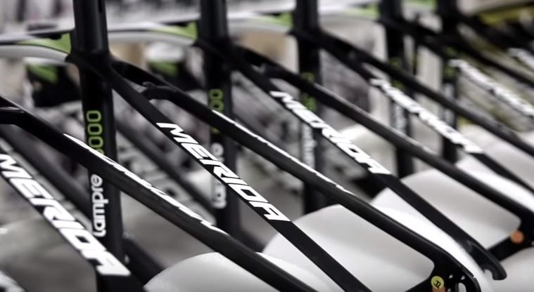 Merida Carbon Bike Production