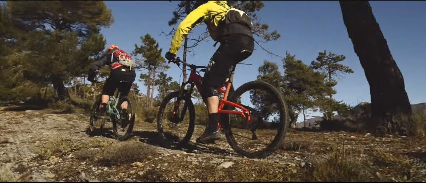 Watch the Orange Four MTB in action