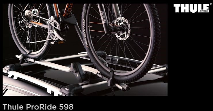 Installation video for Thule 598 ProRide Cycle Carrier