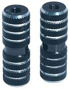 Image of Diamondback Knurled Pegs