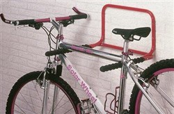 Image of Mottez 2 Bike Folding Wall Mount Storage Rack