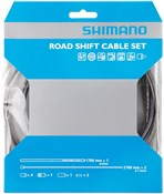 Image of Shimano Dura Ace Road Gear Cable Set With PTFE Coated Inner Wire