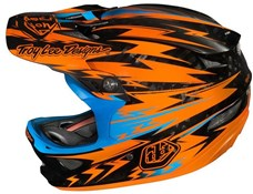 Image of Troy Lee D3 Carbon Pinstripe Full Face Helmet