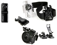 Image of Veho Muvi Camera with Waterproof Case and Handlebar Mount