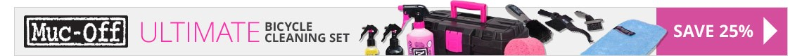 Save 25% on the Ultimate Bicycle Cleaning Set from Muc-Off