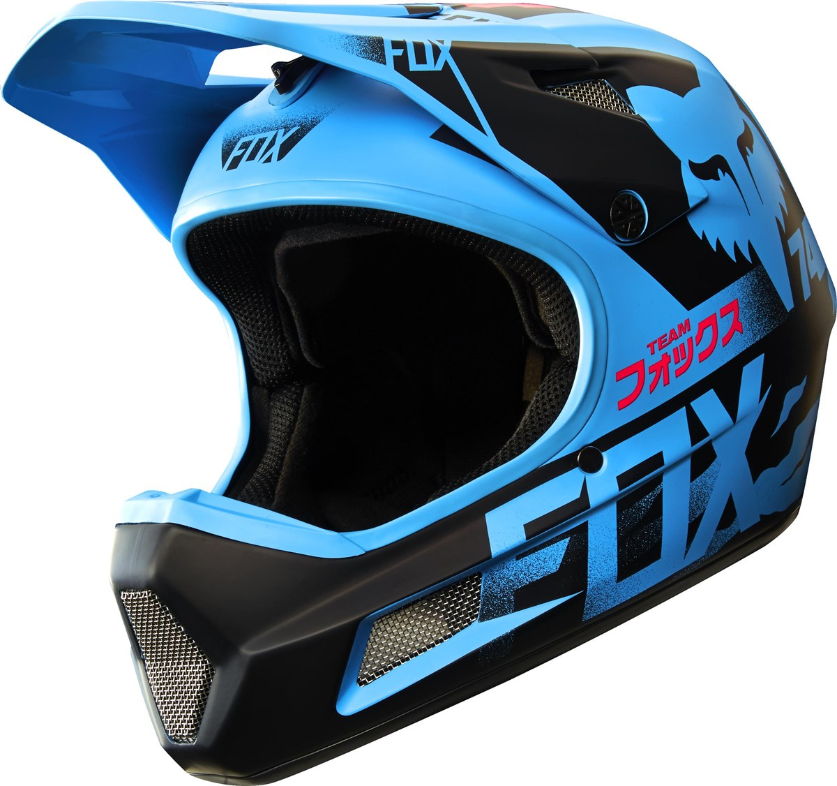 fox clothing rampage comp mtb full face helmet aw16 ebay. Black Bedroom Furniture Sets. Home Design Ideas