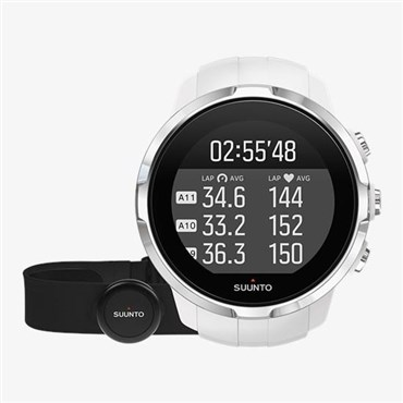 Spartan Sport White (HR) Heart Rate and GPS Touch Screen Multi Sport Watch