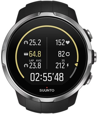 Spartan Sport Black GPS Touch Screen Multi Sport Watch