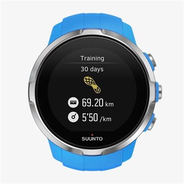 Spartan Sport Blue GPS Touch Screen Multi Sport Watch