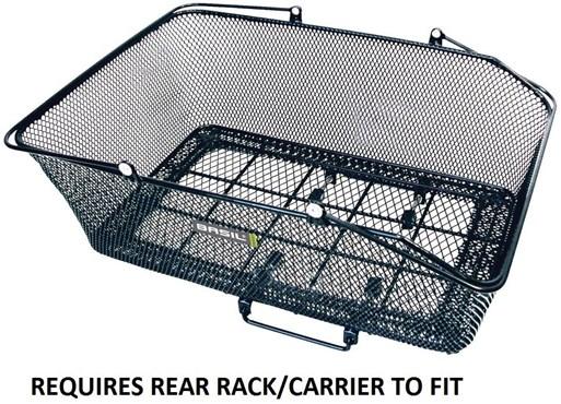 California XLarge Rear Basket With Basco Mount
