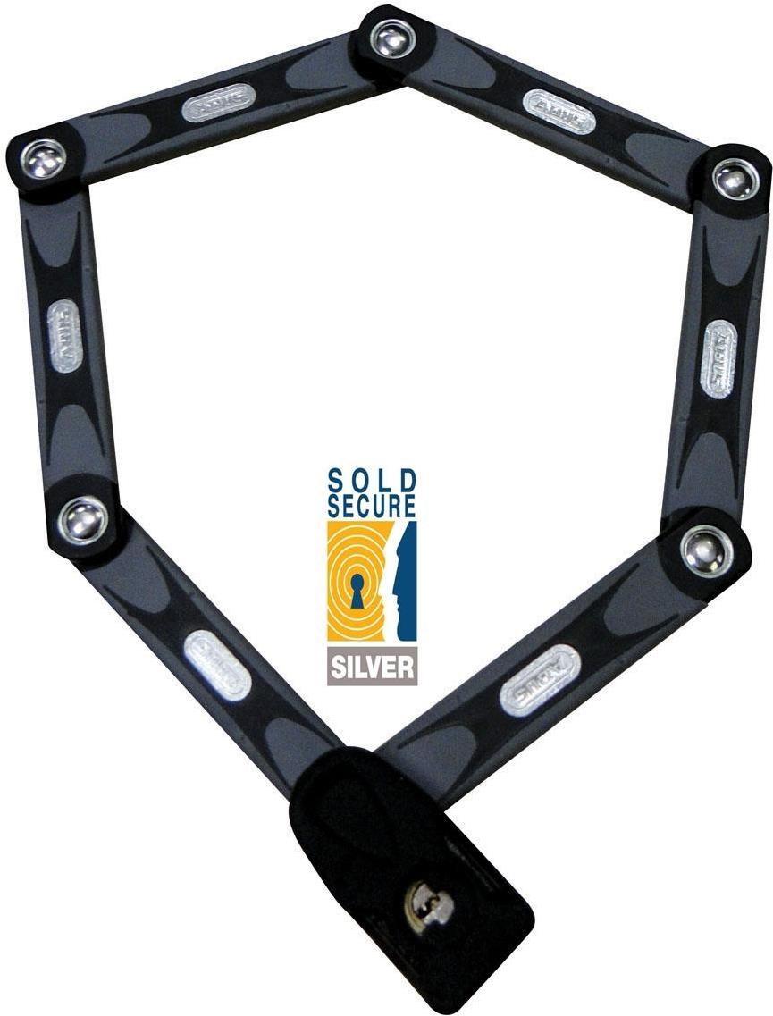 abus bordo 6000 folding bike cycle lock 90cm long black ebay. Black Bedroom Furniture Sets. Home Design Ideas