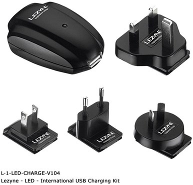 International USB Wall Charger Kit