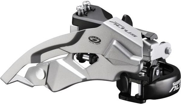 FDM370 Altus 9 Speed Front Derailleur Top Swing Dual Pull
