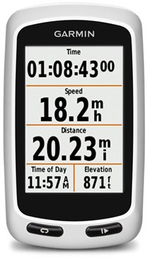 Edge Touring GPS Enabled Cycle Computer