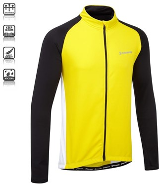 Winter Weight Race Long Sleeve Cycling Jersey SS16