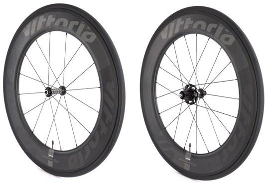 Qurano 84 Full Carbon Tubular SRAMShimano NoTool Freewheel Quick Release Wheelset