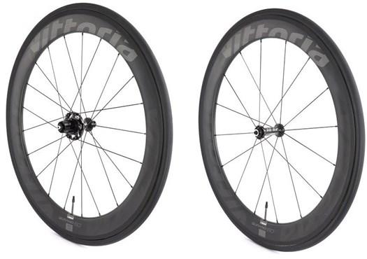 Qurano 60 Full Carbon Tubular SRAMShimano NoTool Freewheel Quick Release Wheelset