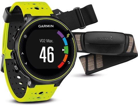 Forerunner 230 GPS Fitness Watch With Premium SoftStrap HRM