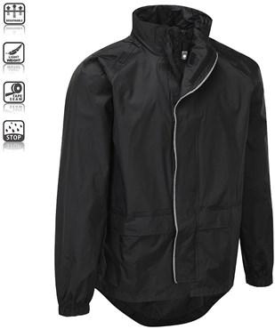 Unite Waterproof Cycling Jacket  LED Zipper Light SS16