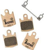 Image of Aztec Sintered Disc Brake Pads For Hope M4 / E4 / DH4