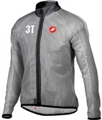 Image of Castelli 3T Sottile Transparent Cycling Jacket