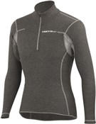 Image of Castelli Flanders Warm Zip Neck Long Sleeve Cycling Baselayer
