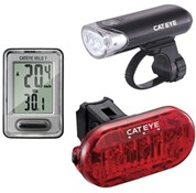 Image of Cateye EL135/TL135/VELO7 Combo Go Kit