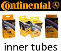 Image of Continental R26 650 x 18 - 25C long valve Presta inner tube