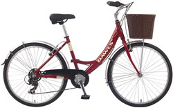 Image of Dawes Red Feather Womens 2014 Hybrid Bike