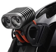 Gemini 1500 Lumen Duo LED Light 2-Cell Rechargeable Front Light