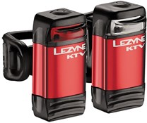 Image of Lezyne KTV Drive LED USB Front/Rear Rechargeable Light Set