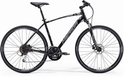 Image of Merida Crossway 100 2014 Hybrid Bike
