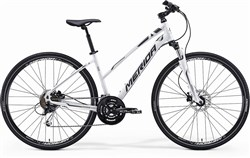 Image of Merida Crossway 100 Womens 2014 Hybrid Bike