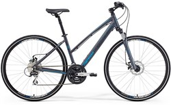 Image of Merida Crossway 20 MD Womens 2015 Hybrid Bike