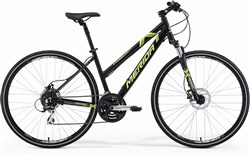 Image of Merida Crossway 20 Womens 2014 Hybrid Bike