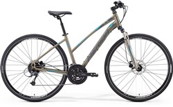 Image of Merida Crossway 300 Womens 2015 Hybrid Bike