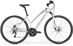 Image of Merida Crossway 40 Womens 2015 Hybrid Bike